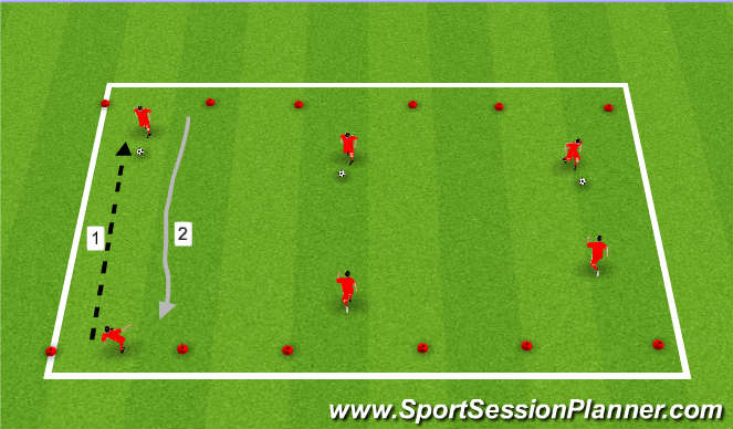 Football Soccer Individual And Group Defending Tactical