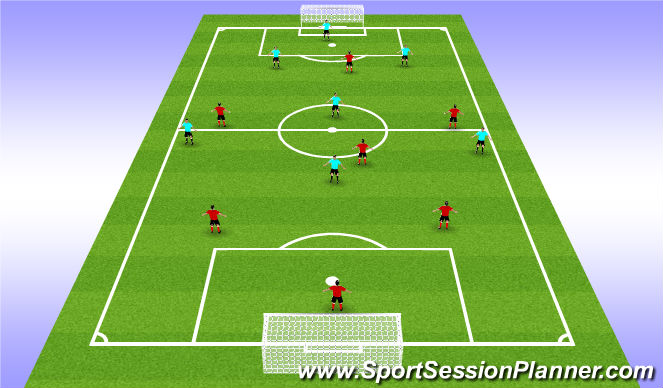 Football Soccer Opdl 7 Aside Internal Scrimmage Small