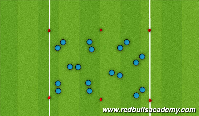 Football/Soccer Session Plan Drill (Colour): Activity 2 - Lost In Space