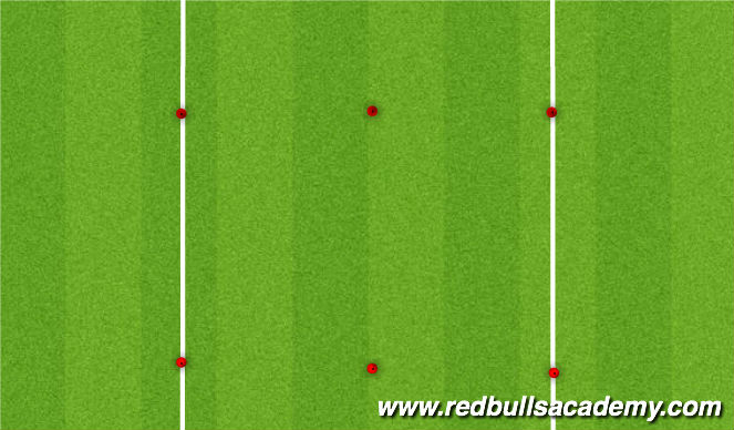 Football/Soccer Session Plan Drill (Colour): Activity 3 (Alt) - Rocket Battle