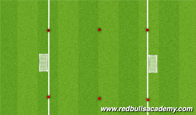 Football/Soccer Session Plan Drill (Colour): Activity 5 - Small Sided Game