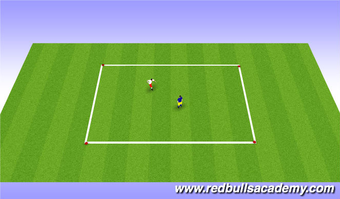 Football/Soccer Session Plan Drill (Colour): Fencing