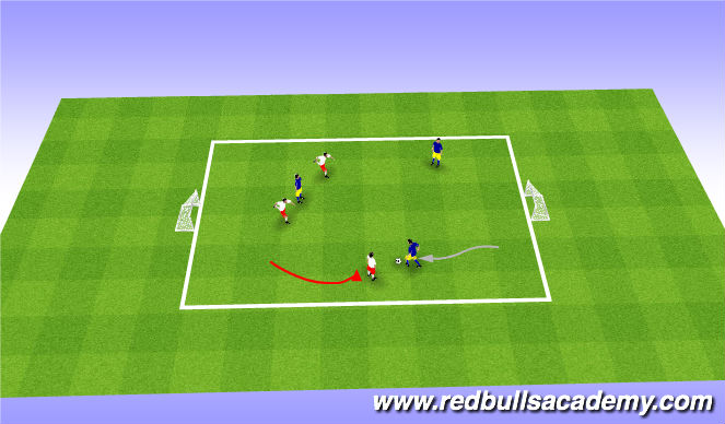 Football/Soccer Session Plan Drill (Colour): ShowTime :)
