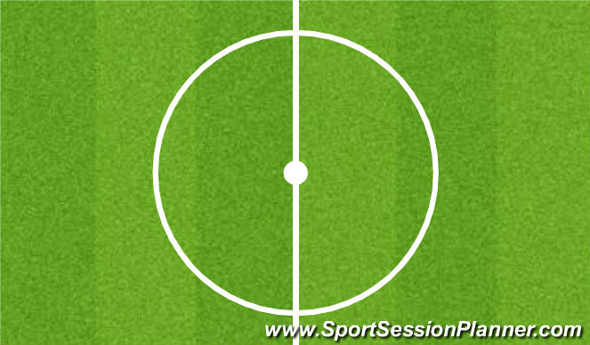 Football/Soccer Session Plan Drill (Colour): Stretches