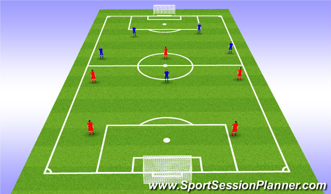 Football/Soccer Session Plan Drill (Colour): Screen 4