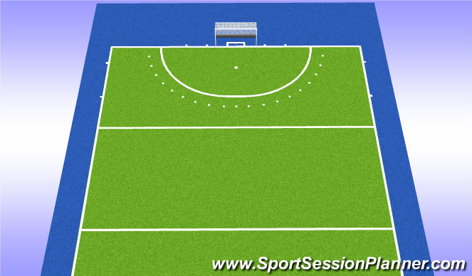 Hockey Session Plan Drill (Colour): game 7v7