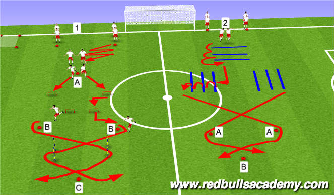 Save Image Football Soccer Session Plan Drill Colour Strength Conditioning Training I