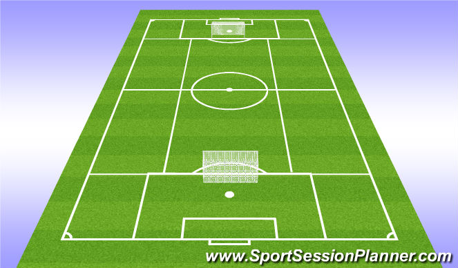Football/Soccer Session Plan Drill (Colour): Leikrænþjálfun3