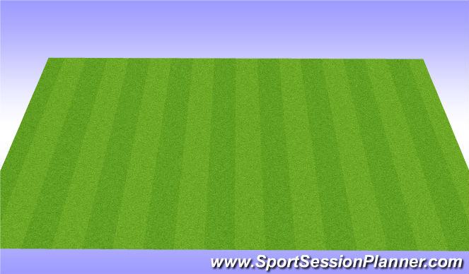 Football/Soccer Session Plan Drill (Colour): Cool Down Recovery Routine