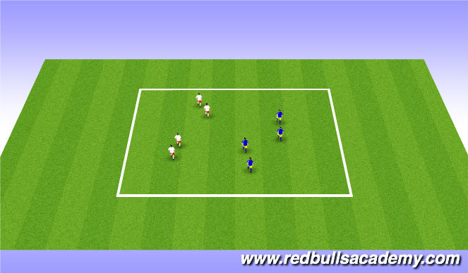 Football/Soccer Session Plan Drill (Colour): Moving Buddies