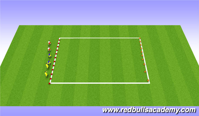 Football/Soccer Session Plan Drill (Colour): Andys coming