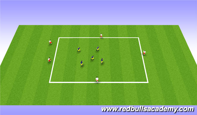 Football/Soccer Session Plan Drill (Colour): Bobby Charlton