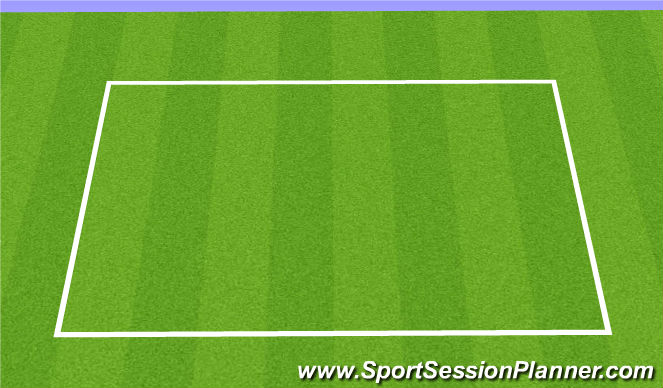 Football/Soccer Session Plan Drill (Colour): Core Circuit:
