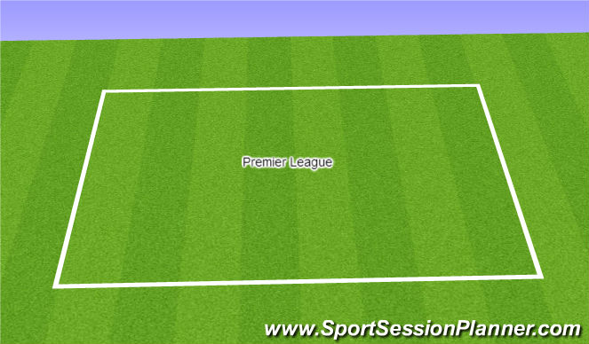 Football/Soccer Session Plan Drill (Colour): Premier League