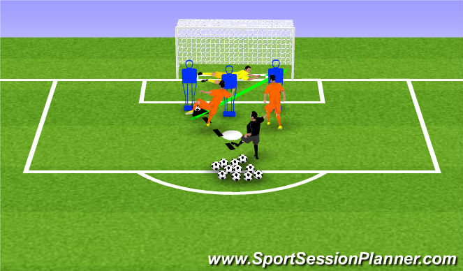 Football/Soccer Session Plan Drill (Colour): Toe Pokeing Activity