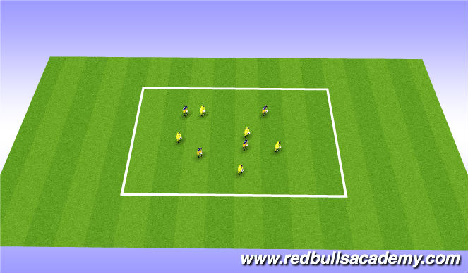 Football/Soccer Session Plan Drill (Colour): Spongebob sqaure pants