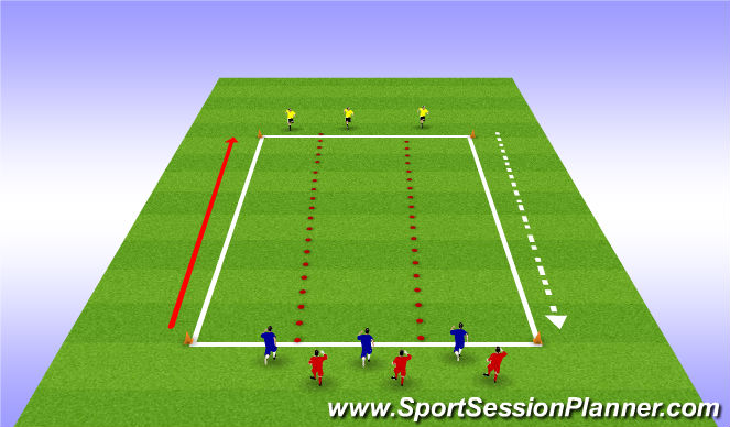 Football/Soccer Session Plan Drill (Colour): width