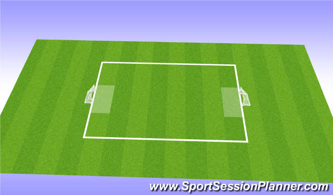 Football/Soccer Session Plan Drill (Colour): Match of the Day