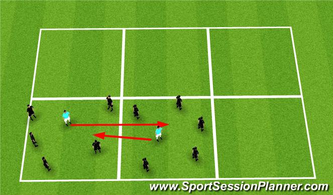 Football/Soccer Session Plan Drill (Colour): Rondo; 5v1