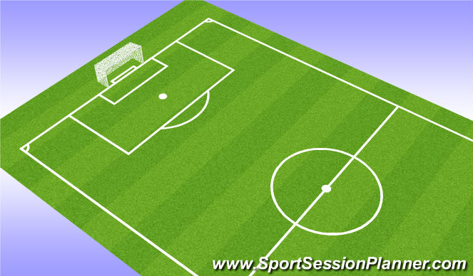 Football/Soccer Session Plan Drill (Colour): SSG-Conditioned Game