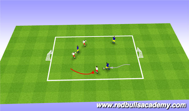 Football/Soccer Session Plan Drill (Colour): ShowTime