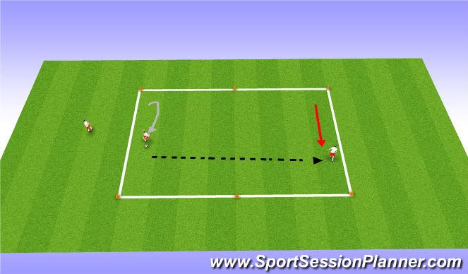 Football/Soccer Session Plan Drill (Colour): Skilldevelopment( no pressure)