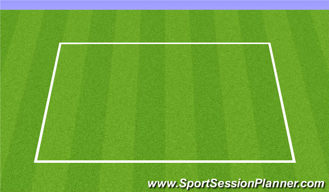 Football/Soccer Session Plan Drill (Colour): FIFA11