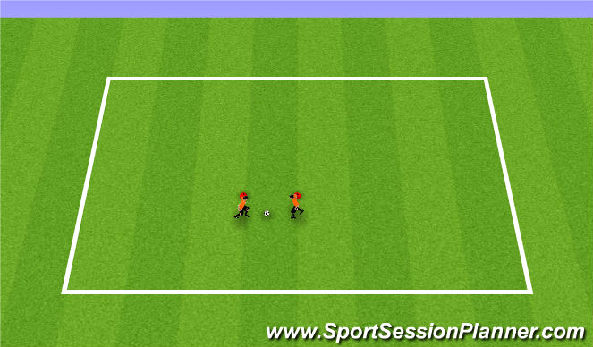 Football/Soccer Session Plan Drill (Colour): Buddy Passing1