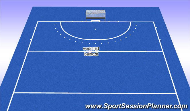 Hockey Session Plan Drill (Colour): wedsyrijd/balbezit