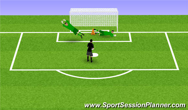 Football/Soccer Session Plan Drill (Colour): Oefening 1-4