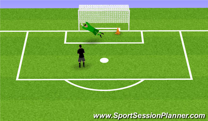 Football/Soccer Session Plan Drill (Colour): Oefening 8