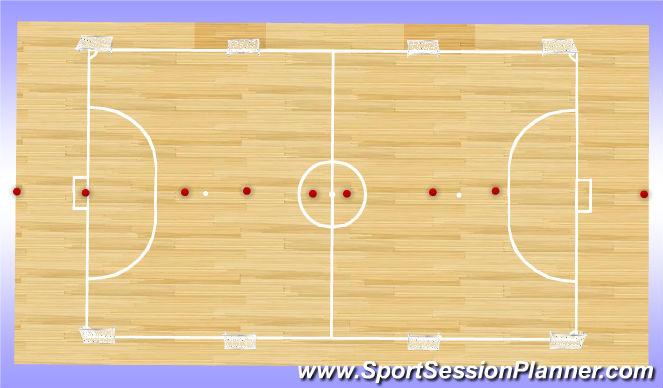 Futsal Session Plan Drill (Colour): High Seas
