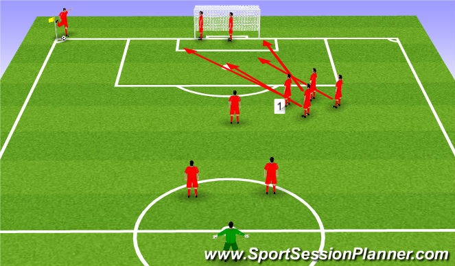Football/Soccer Session Plan Drill (Colour): Kiwi