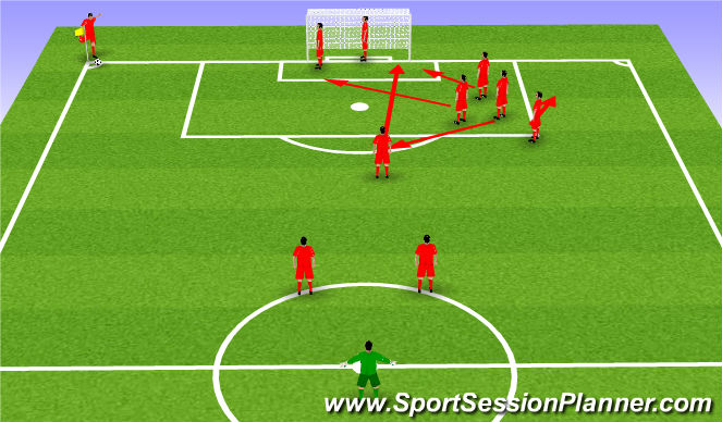 Football/Soccer Session Plan Drill (Colour): Edge