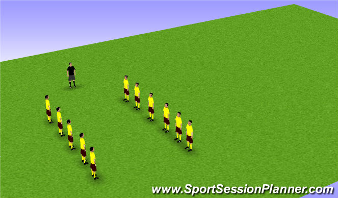 Football/Soccer Session Plan Drill (Colour): CORE Strengthening