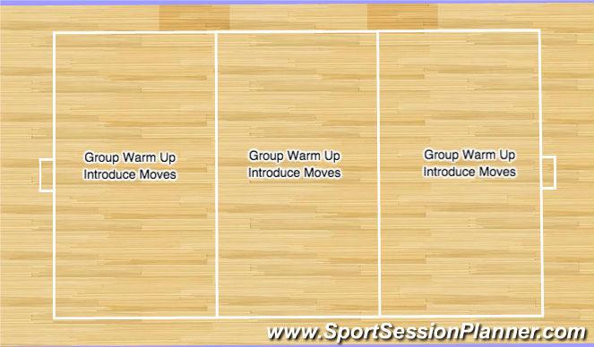 Futsal Session Plan Drill (Colour): Individual Futsal Skill Learning