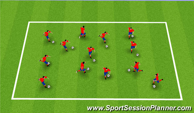 Football/Soccer Session Plan Drill (Colour): Homw Work Review