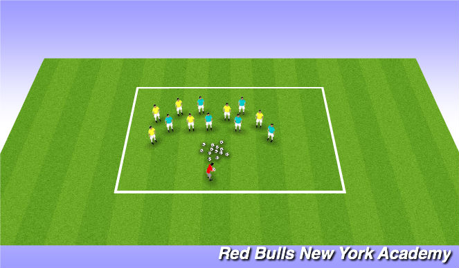 Football/Soccer Session Plan Drill (Colour): I can do this! What can you do?
