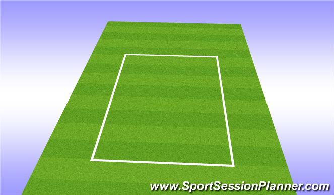 Football/Soccer Session Plan Drill (Colour): Scrimmage With Goalies