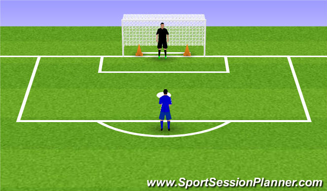 Football/Soccer Session Plan Drill (Colour): Back to the Basics