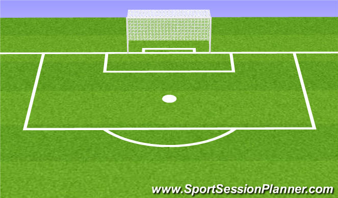 Football/Soccer Session Plan Drill (Colour): Oefening 7