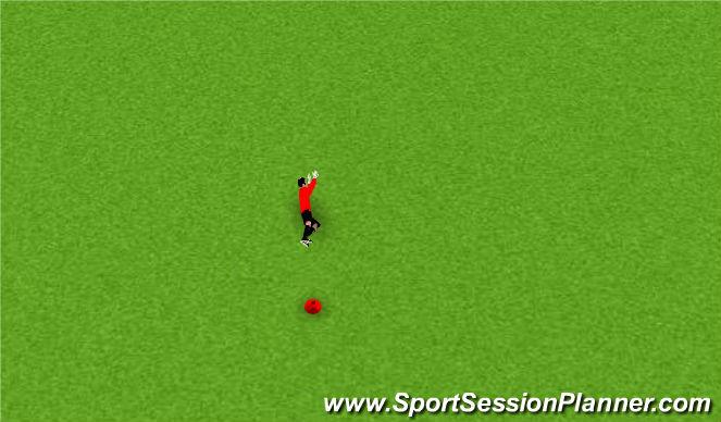 Fútbol Ejercicio del Plan de Sesiones (Color): Pantalla 1
