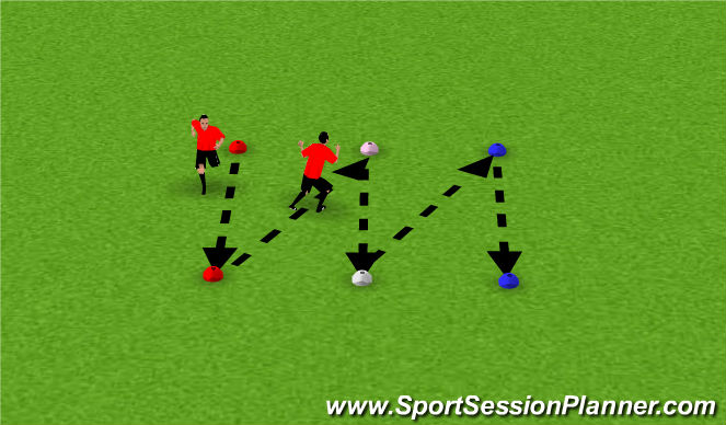 Football/Soccer Session Plan Drill (Colour): Pantalla 4