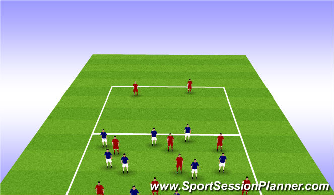 Football/Soccer Session Plan Drill (Colour): Transition Practice Defence to Attack