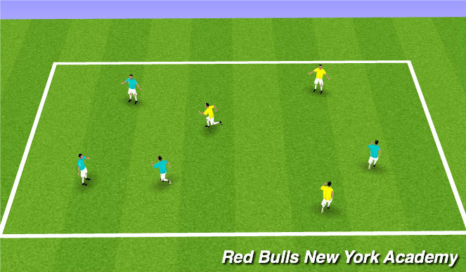 Football/Soccer Session Plan Drill (Colour): Warm-up: Motor Skill