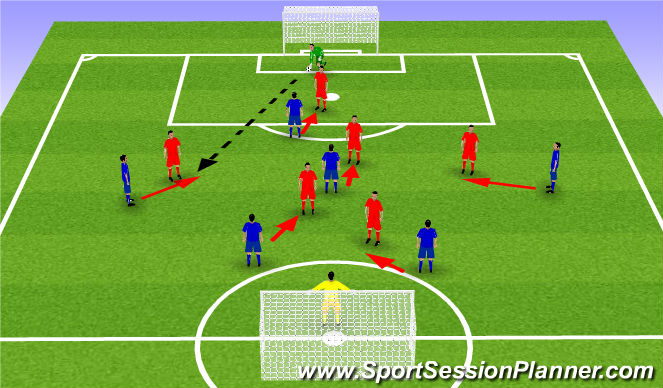 Football/Soccer Session Plan Drill (Colour): CIG Press