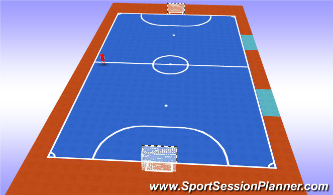 Futsal Session Plan Drill (Colour): Pantalla 2