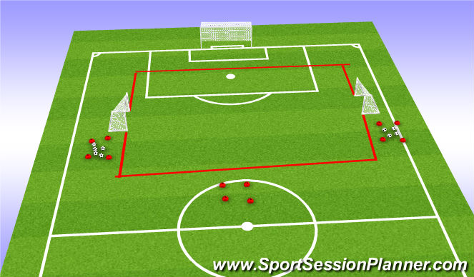Football/Soccer Session Plan Drill (Colour): Random