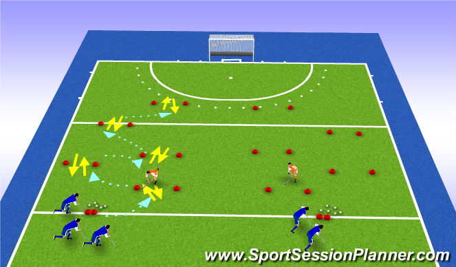 Hockey Session Plan Drill (Colour): playback