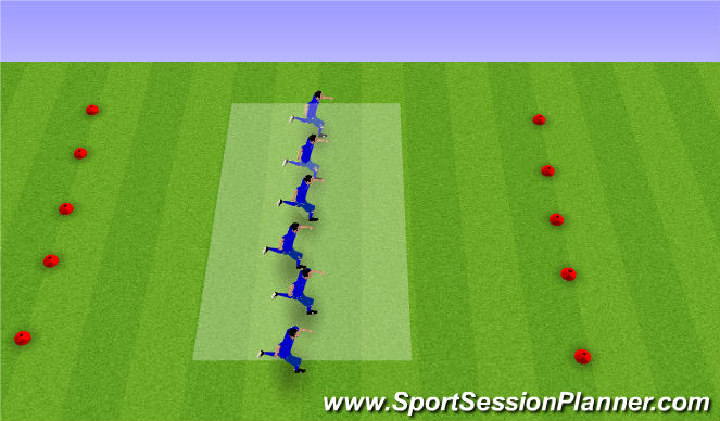 Football/Soccer Session Plan Drill (Colour): Drill - Spinning Off